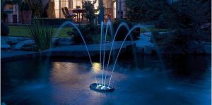 Water Starlet (Oase) ledes úszó szökőkút