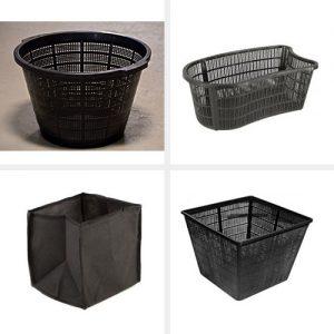 Ültető kosarak, ültető táskák