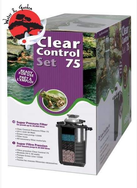 Velda Clear Control 75 nyomásszűrő szett