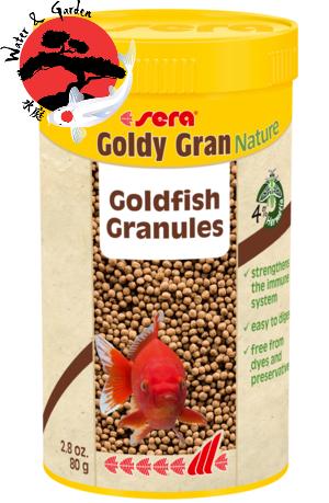 Sera Goldy Gran Nature Aranyhal eledel